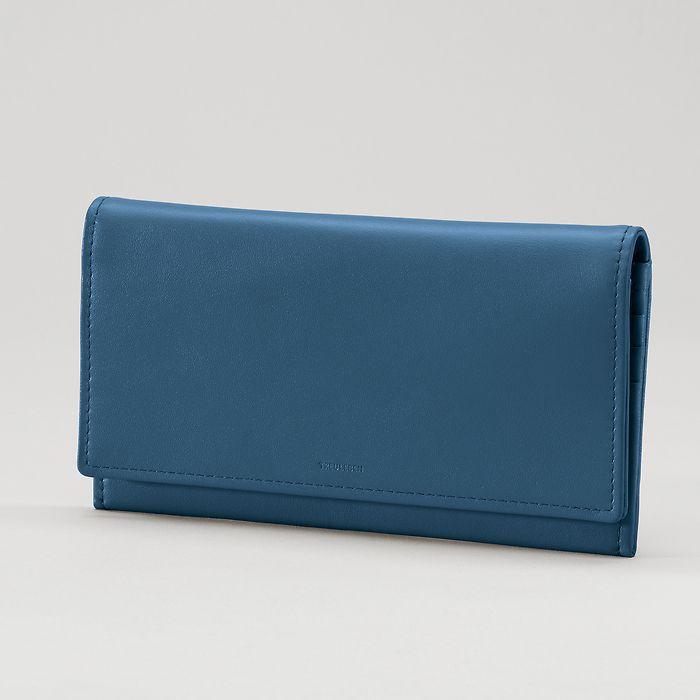 Treuleben Portemonnaie Wallis Prussian Blue