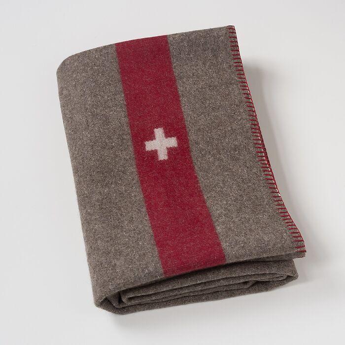 Original Schweizer Militärdecke