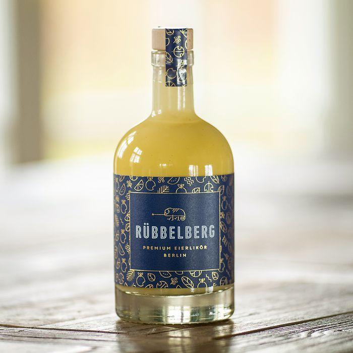 Bio-Eierlikör mit Bourbon-Vanille