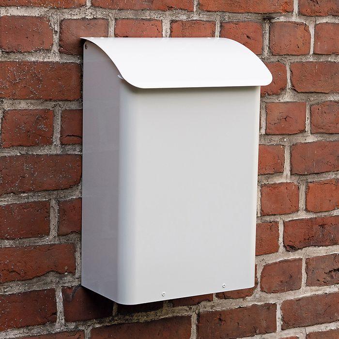 Briefkasten Safepost 14 Weiß