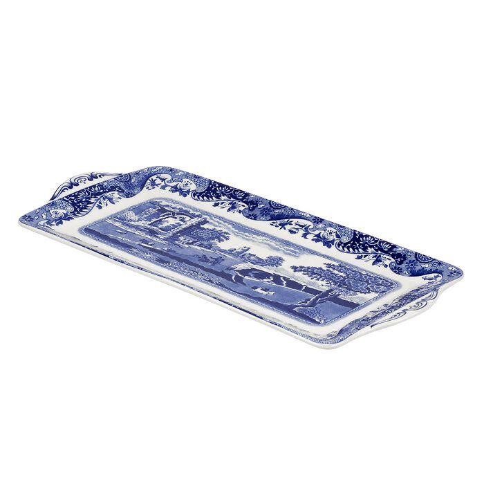 Spode Blue Italian Sandwichtablet