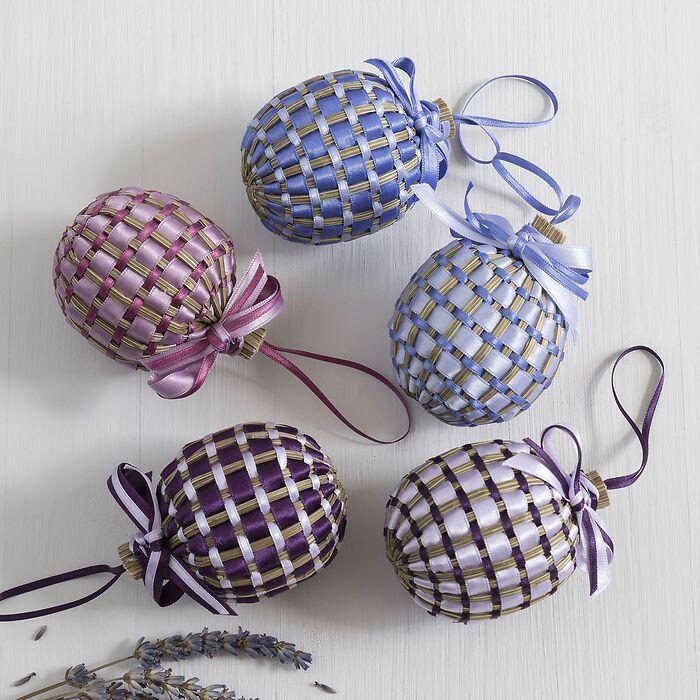 Coeur de Lavande Lavendelherz Mauve/Aubergine