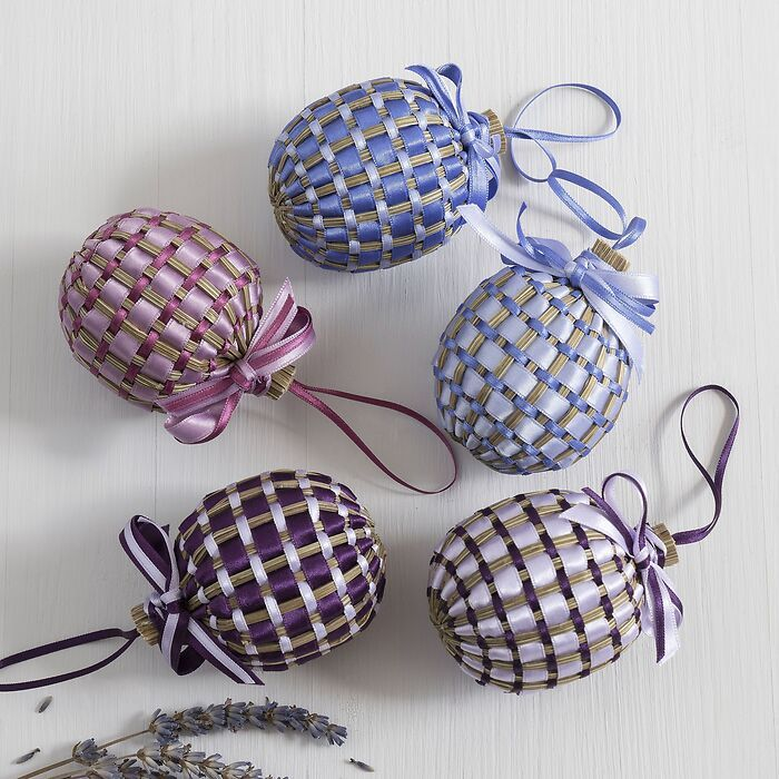 Coeur de Lavande Lavendelherz Aubergine/Mauve