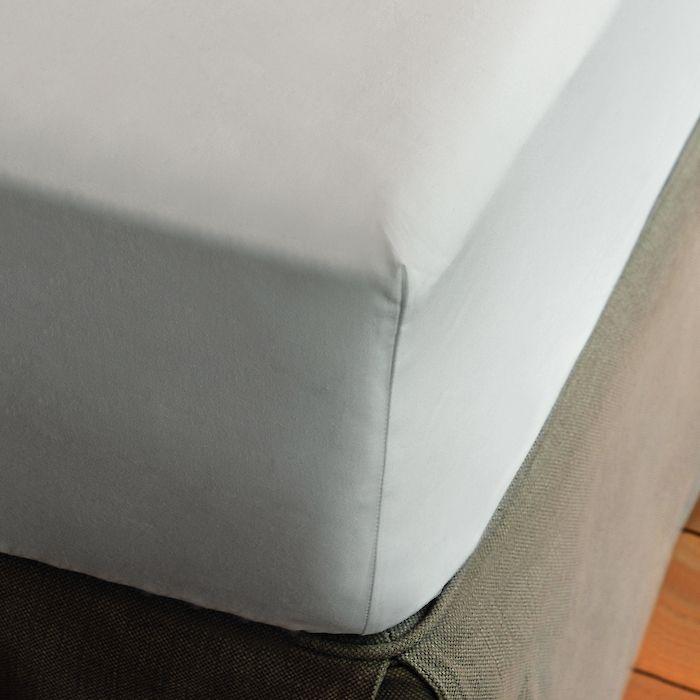 Torquato Spannbetttuch Perkal 160 x 200 cm Weiß