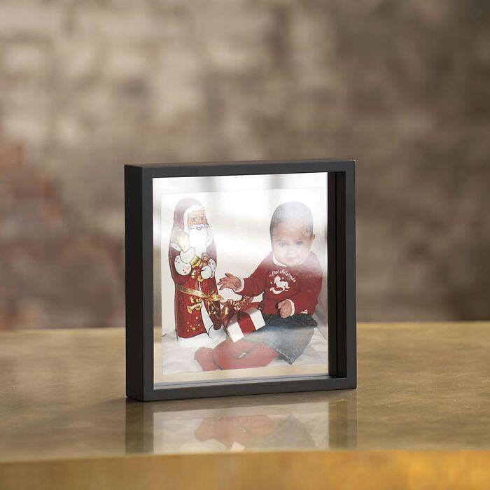 Fotorahmen Floating Box 25 x 25 cm