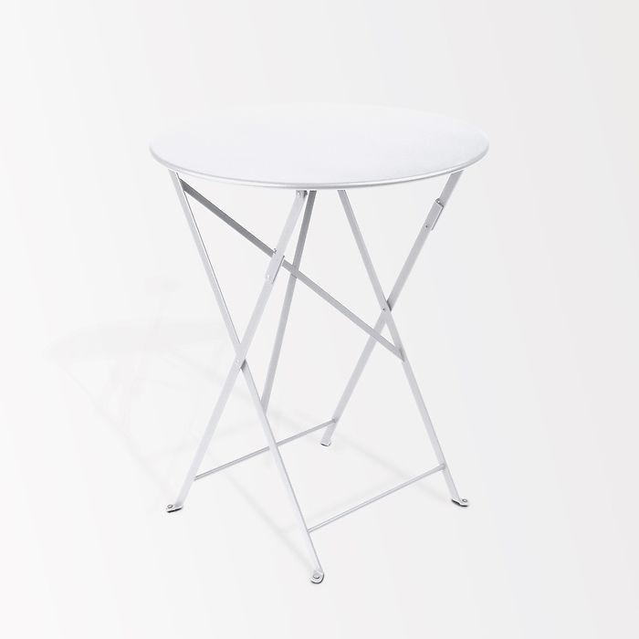 Fermob Bistrotisch Ø 60 cm Weiß