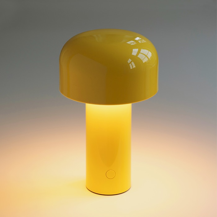 Tischleuchte Bellhop Gelb