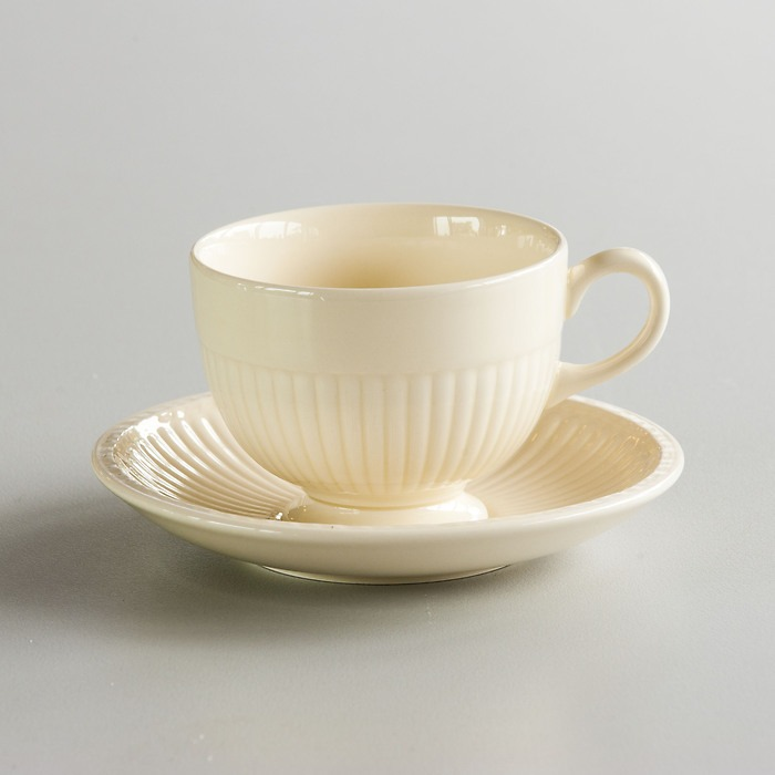 Edme Teetasse mit Untertasse
