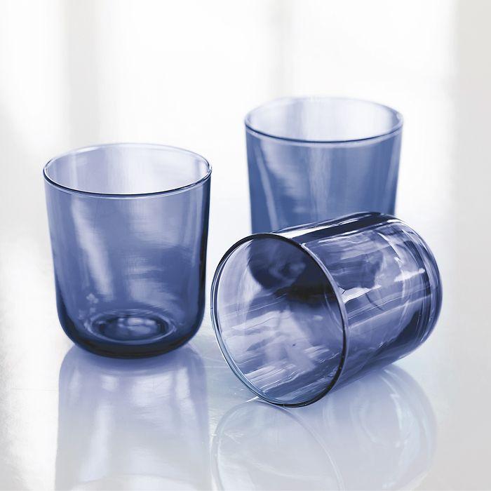 Trinkglas Iron Blue