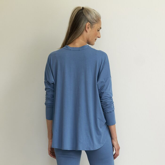 Sunday in Bed Shirt Gerdi Blau XL
