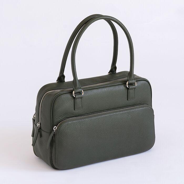 Chi Chi Fan x Torquato City Bag Loden