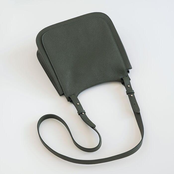 Chi Chi Fan x Torquato Crossbody Bag Loden