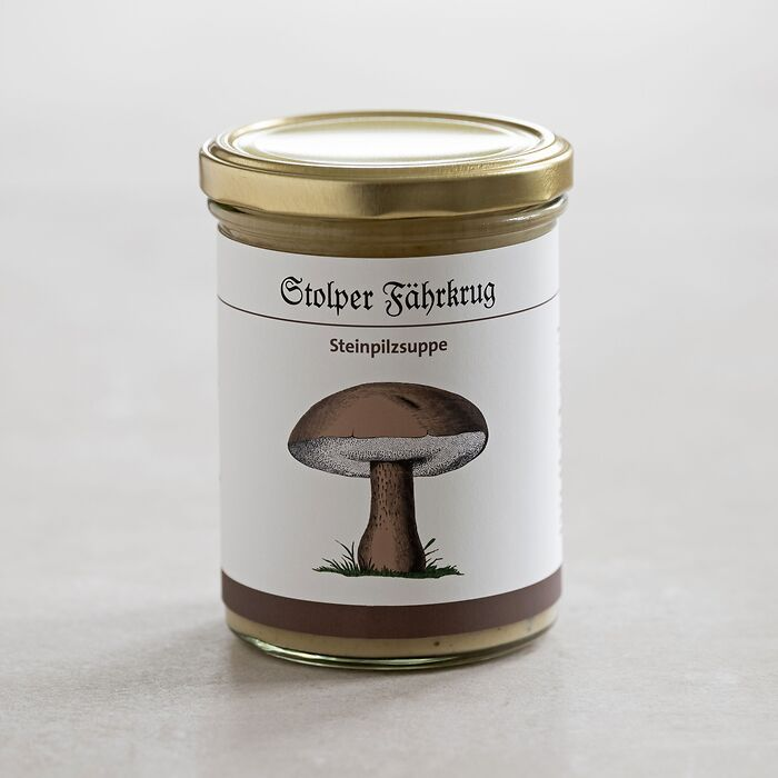Steinpilzsuppe