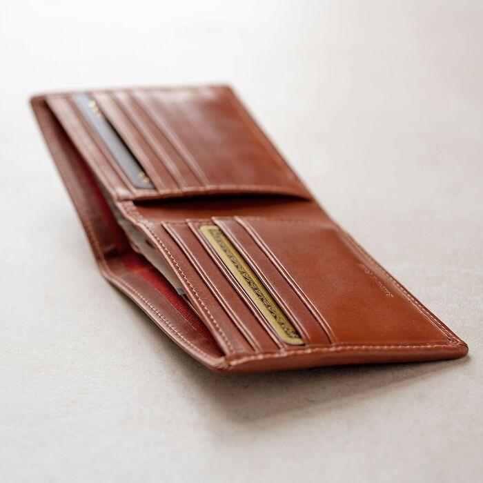 Portemonnaie mit Kartenfächern Chestnut