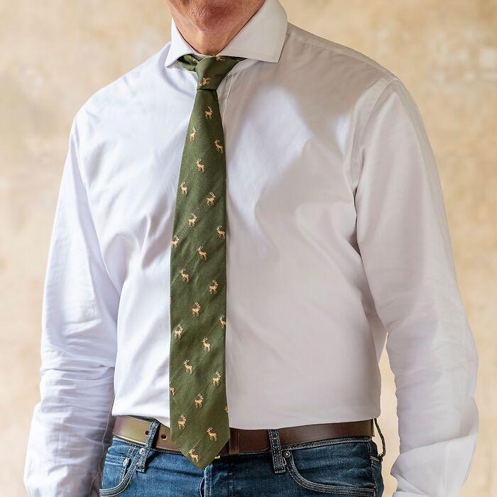 Krawatte Hirsch