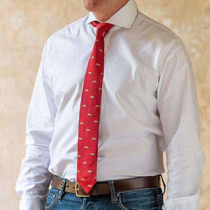 Krawatte Wildschwein