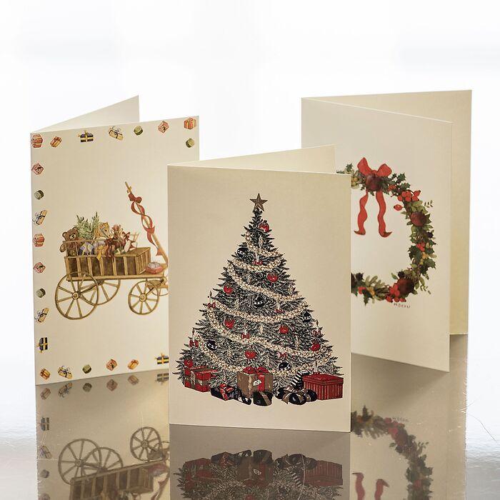 Weihnachtskarten Crown Mill