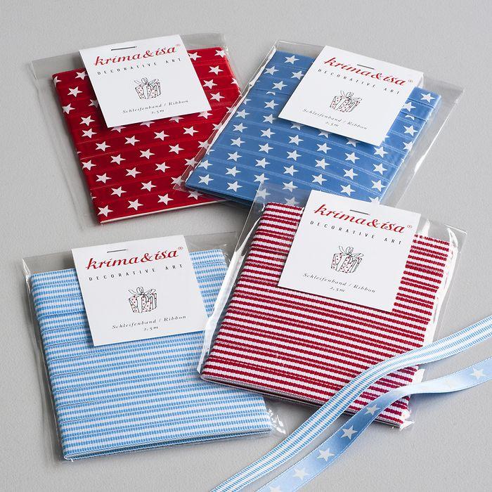 Schleifenbänder für den Adventskalender