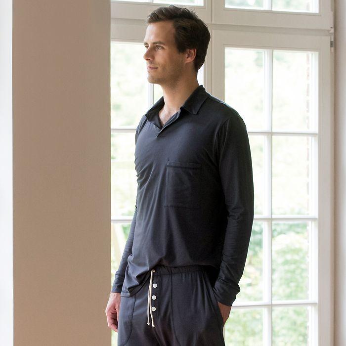 Sunday in Bed Pyjamashirt Morris Langarm