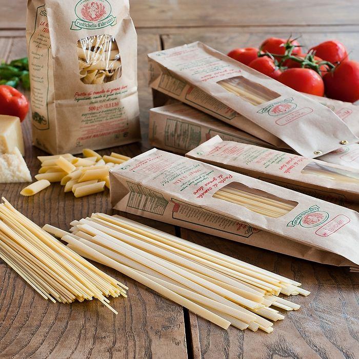 Rustichella: Pasta aus den Abruzzen