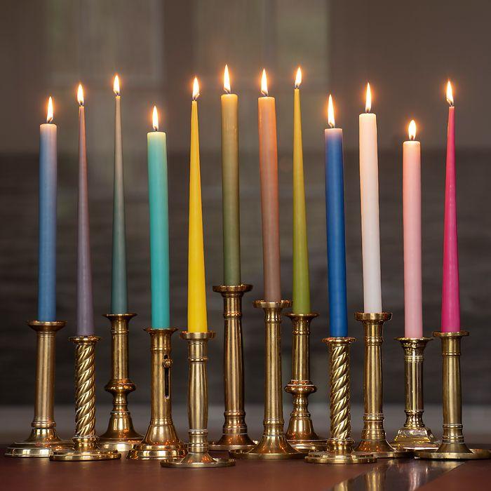 4 Ester & Erik Zylindrische Kerzen