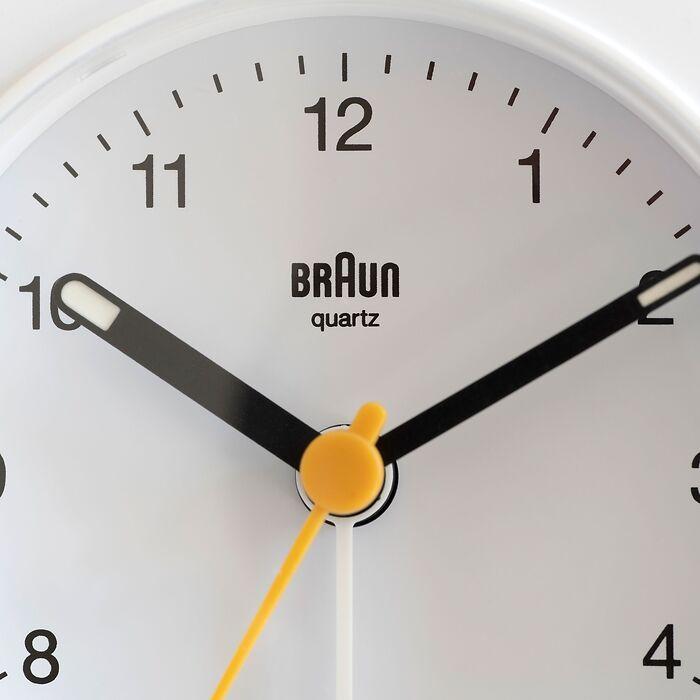 Braun Analogwecker BC03BW