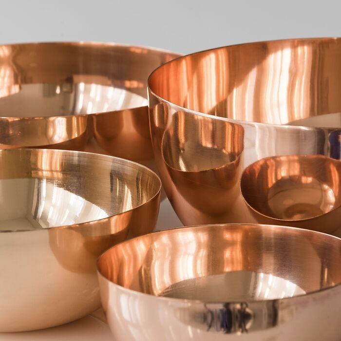 Kupferschüsseln