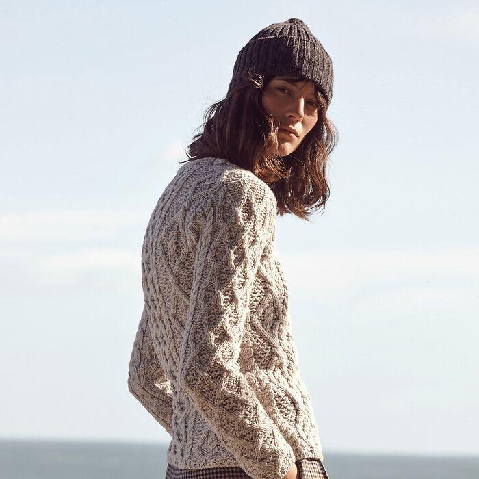Aran-Pullover für Damen