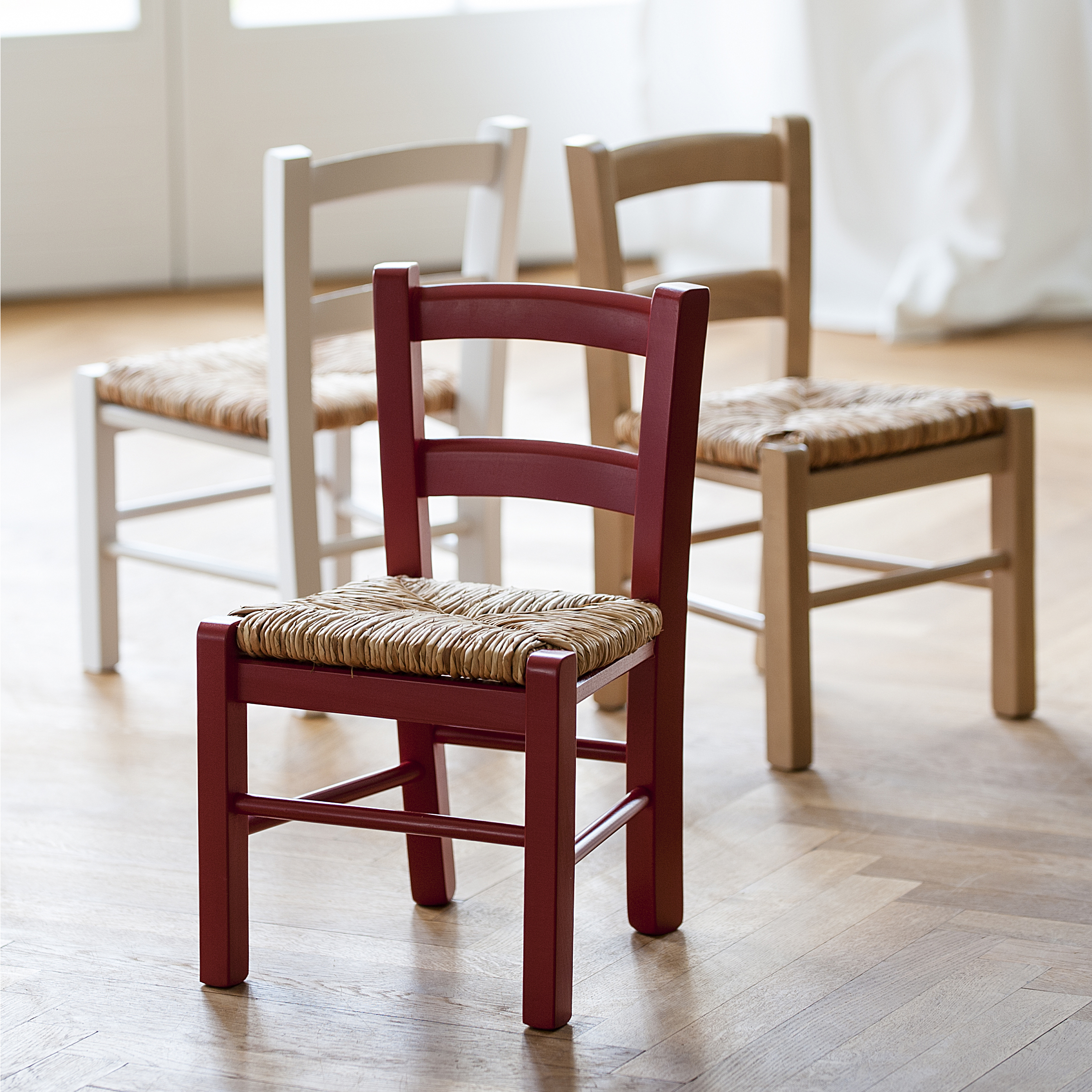 binsen kinderstuhl bei. Black Bedroom Furniture Sets. Home Design Ideas