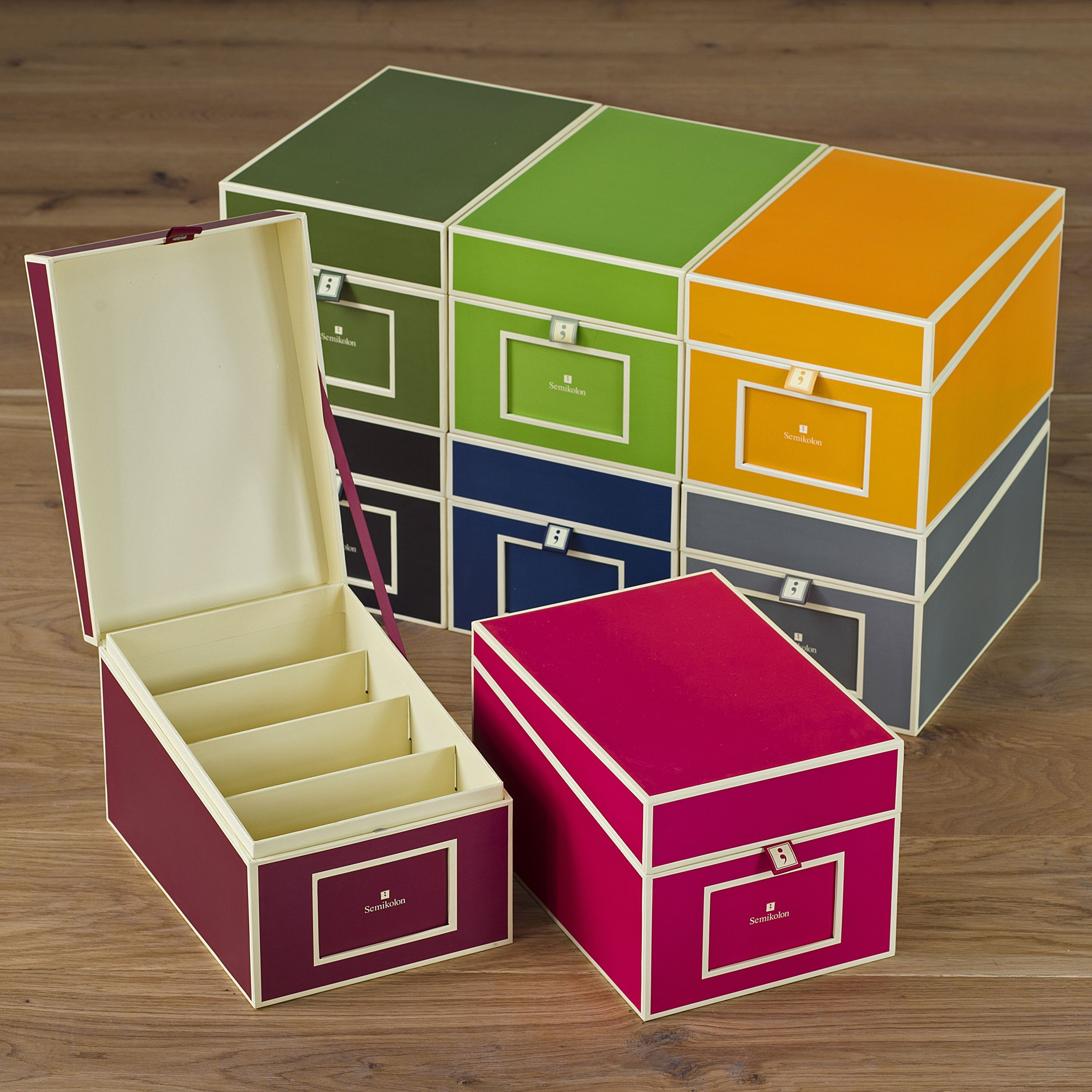 semikolon cd box bei. Black Bedroom Furniture Sets. Home Design Ideas
