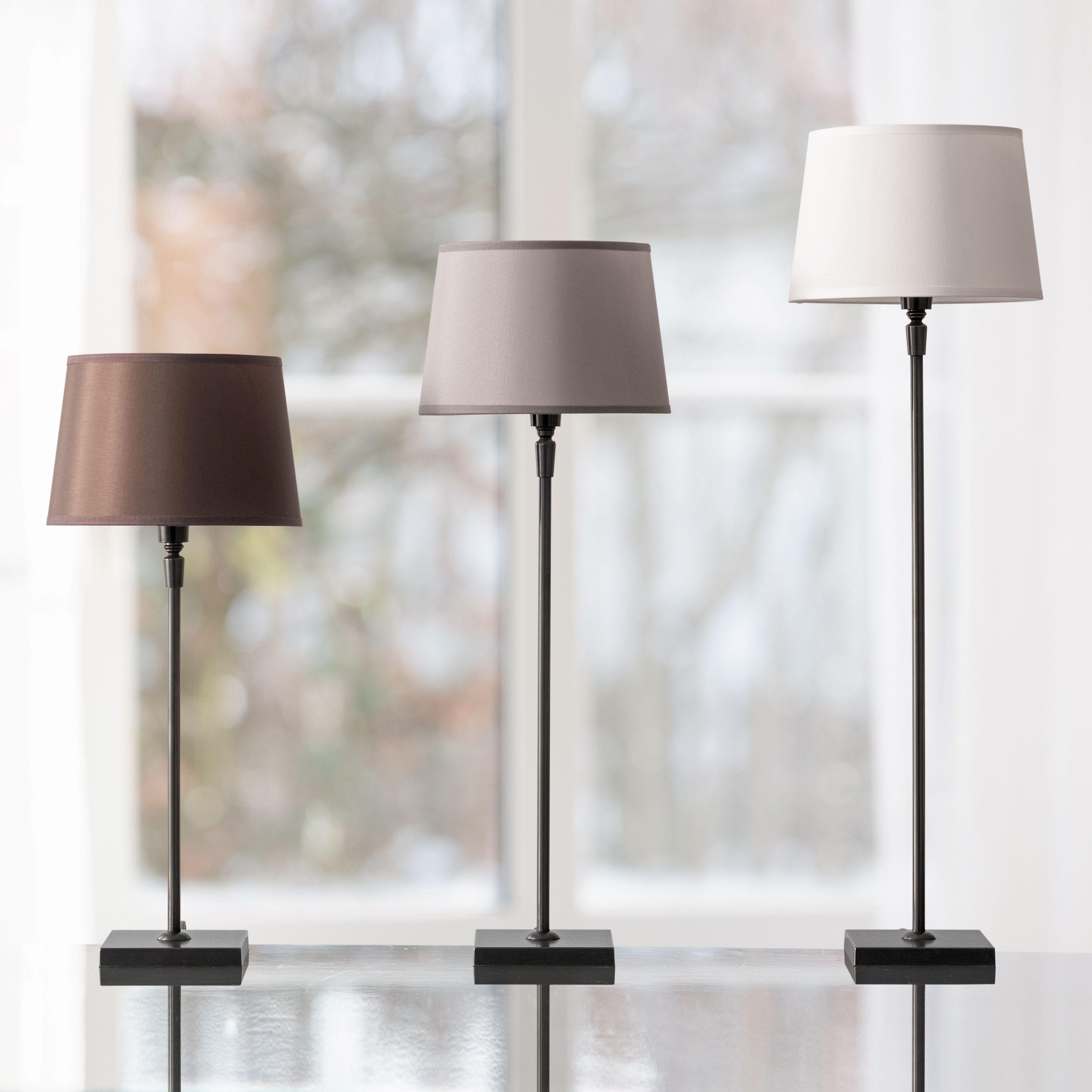 fu f r tischleuchte schwarz bei. Black Bedroom Furniture Sets. Home Design Ideas