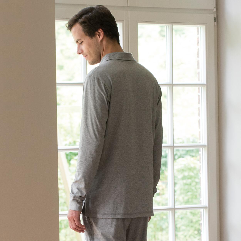 sunday in bed pyjamashirt morris bei. Black Bedroom Furniture Sets. Home Design Ideas
