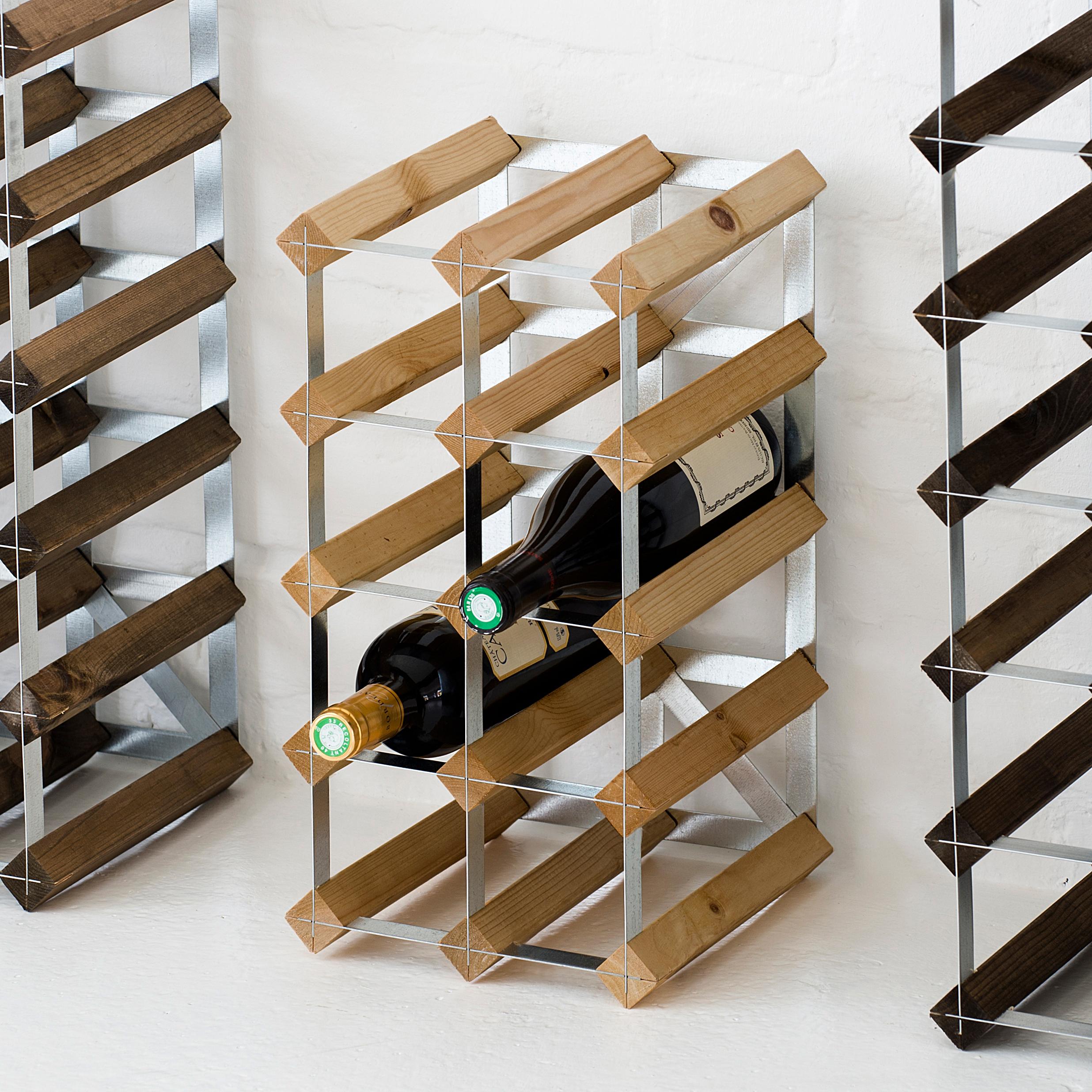 weinregal 12 flaschen bei. Black Bedroom Furniture Sets. Home Design Ideas