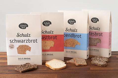 Schulzbrot: Backmischungen für selbstgebackenes Brot