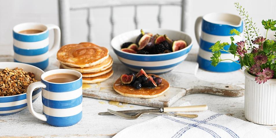 Very British: Cornishware Geschirr
