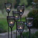 Ständer für Gartenwindlichter