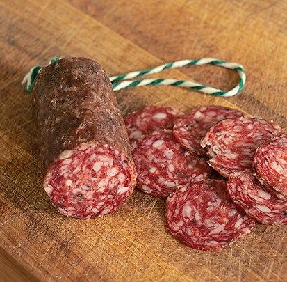 Getrüffelte Salchichón vom Ibérico-Schwein