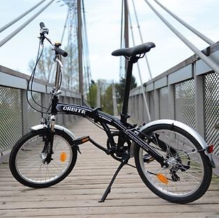 Klapp-Fahrrad Preto Evolution Black