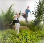 Mini-Dioramen: Golf