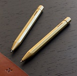 LGNDR Brass Twist Ballpoint Pen