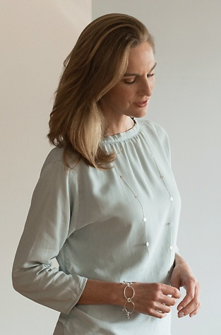 Marjana von Berlepsch Halskette Nela Sterling-Silber