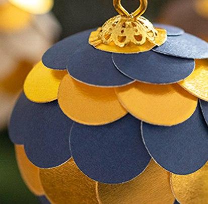Weihnachtsbaumschmuck Millefeuille
