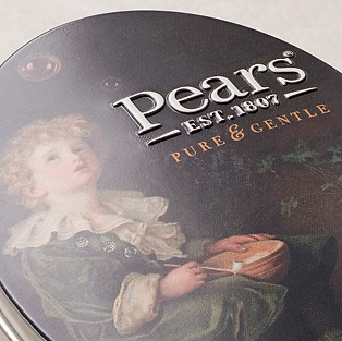 Pears Soap in der Dose