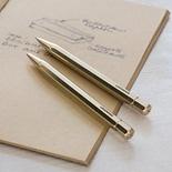 LGDNR Brass Twist Ballpoint Pen