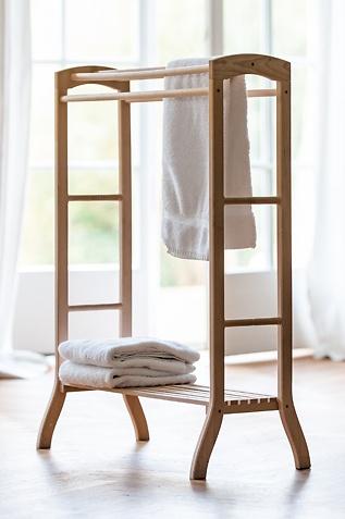 Handtuchständer aus Holz