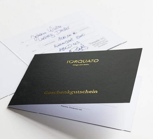 TORQUATO Geschenkgutschein