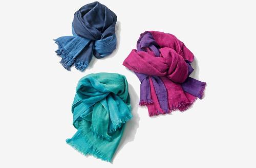 Federleichte Sommer-Schals