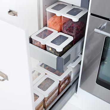 Vorratsbehälter für Küche und Speisekammer