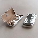 Brillenetui Aluminium poliert