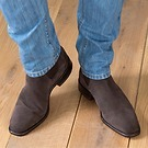 R.M. Williams Chelsea Boots Suede Chocolate